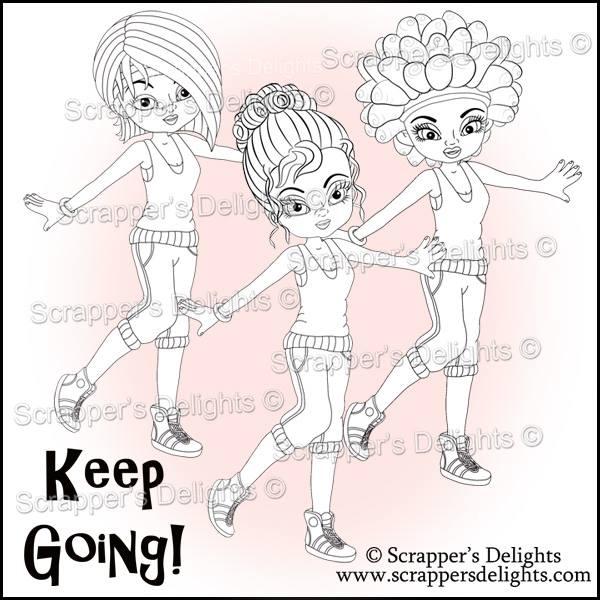 keep going girls